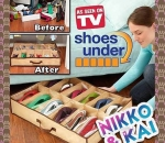 "UNDERBED SHOE ORGANIZER ""AS SEEN ON TV"""